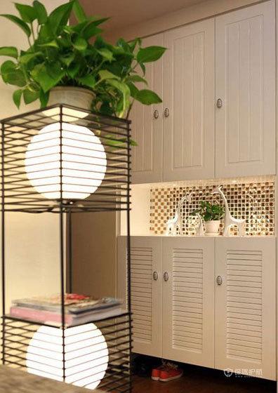 空间大利用 85㎡简约婚房 ,简约风格,现代简约风格,婚房装修,小户型装修,80平米装修,客厅灯