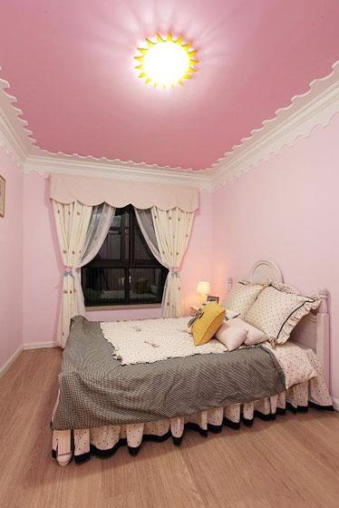温暖舒适的新家 127平简约美式三居 ,三居室装修,简约风格,美式风格,舒适,120平米装修,儿童房