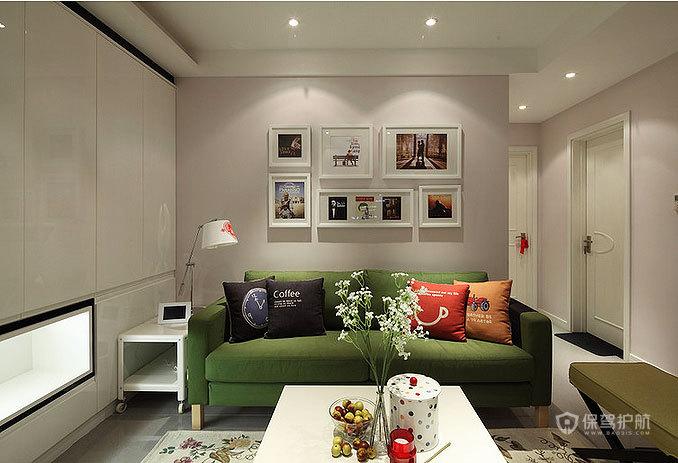 89平低奢小三房 宜家与现代风格混搭 ,三室一厅装修,80平米装修,宜家风格,现代简约风格,混搭风格,奢华,客厅,客厅沙发