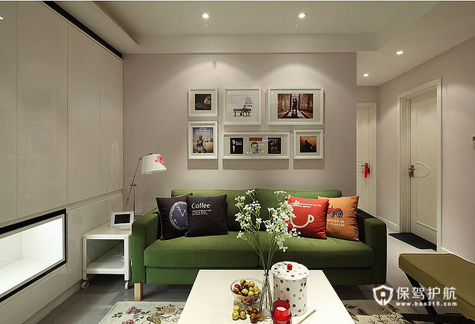 89平低奢小三房 宜家与现代风格混搭
