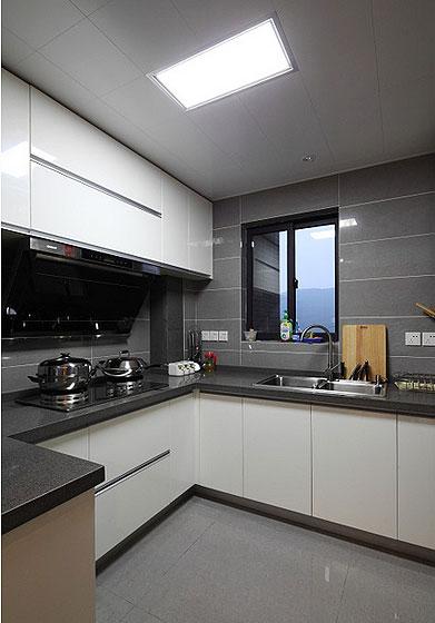 89平低奢小三房 宜家与现代风格混搭 ,三室一厅装修,80平米装修,宜家风格,现代简约风格,混搭风格,奢华,厨房