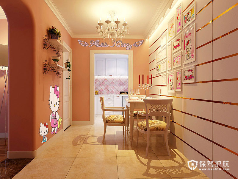 打造清新时尚美居 16种唯美吊顶欣赏 ,欧式风格,小清新,吊顶,餐厅
