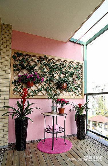 阳台背景墙装修设计效果图