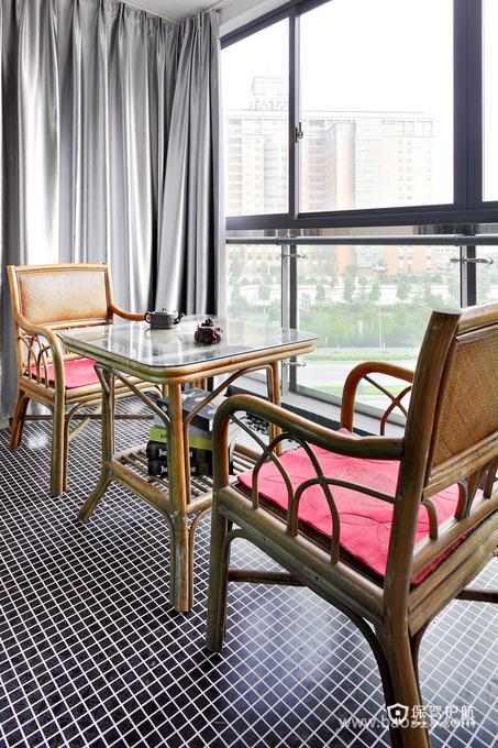 休闲的室内阳台,让生活更闲适