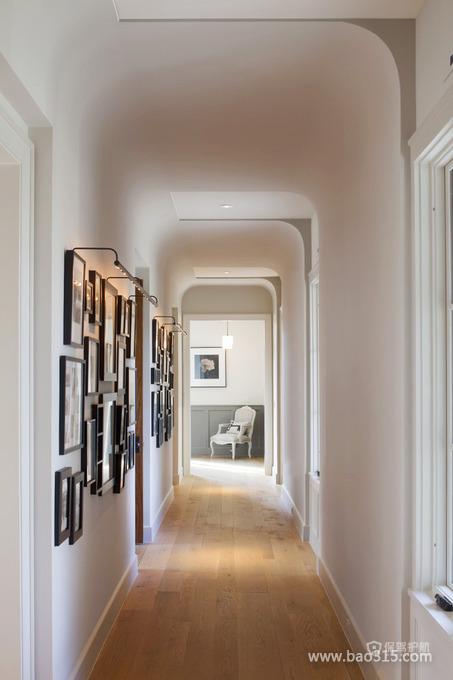 白色北欧风二居室走廊装修效果图
