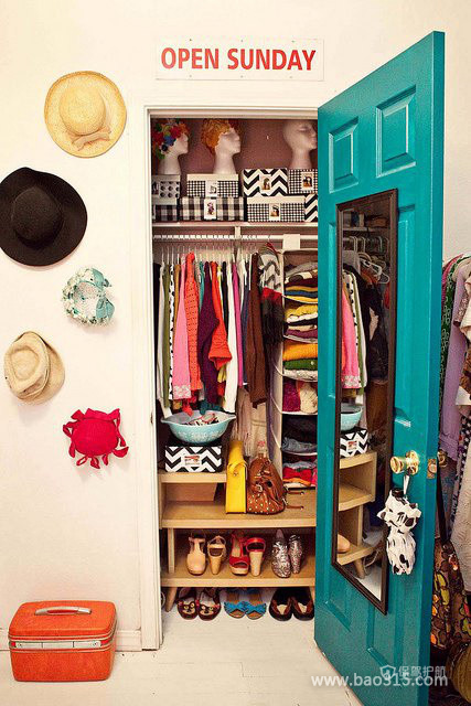摩洛哥风格两室一厅5平米衣帽间装修效果图