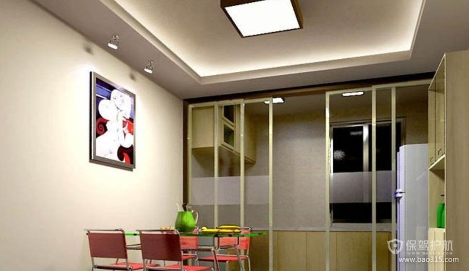 三室两厅现代风格餐厅装修效果图