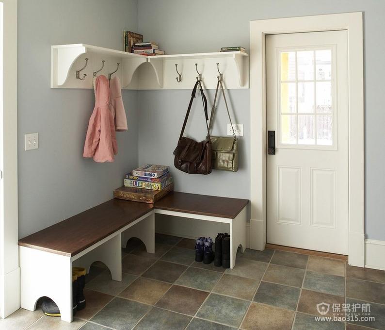 减轻家居室内空间收纳压力的玄关设计