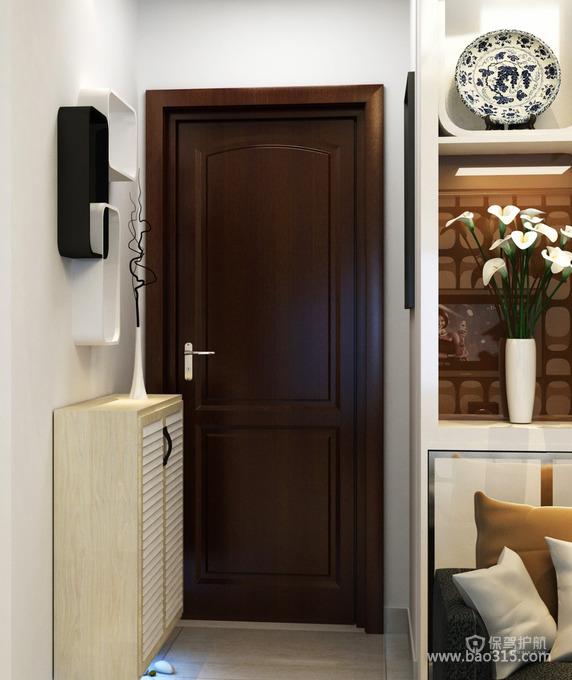 现代风格家居装修中的玄关设计