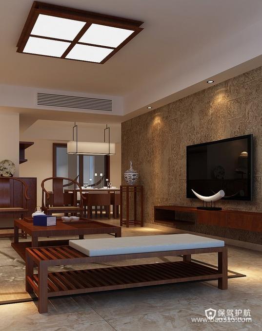 古典韵味之美的中式客厅装修效果图