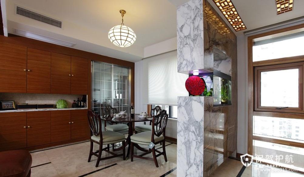 90㎡楼房现代风格餐厅隔断装修效果图-现代风格厨房隔断门图片