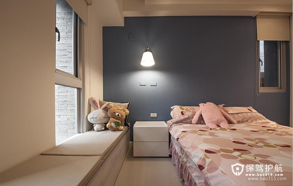 100㎡现代风格卧室背景墙装修效果图-现代风格床图片