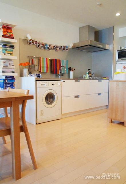 开放式厨房装修的宽敞效果