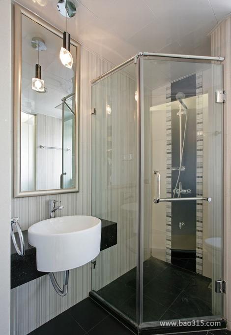 现代简约风淋浴房设计效果图