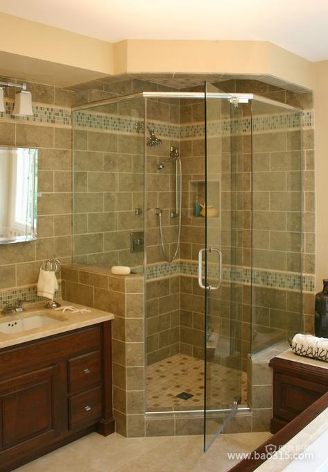 豪华欧式家居淋浴房装修效果图