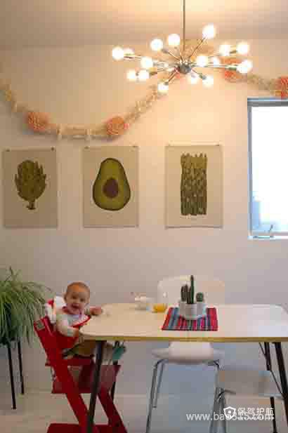 小家伙也喜欢的餐厅空间