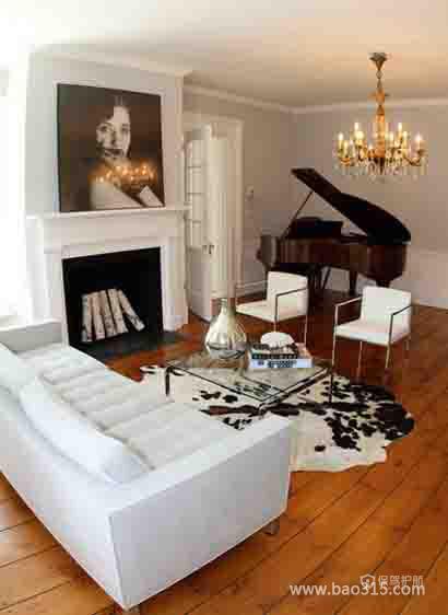 简洁且带有艺术之感的客厅设计效果图
