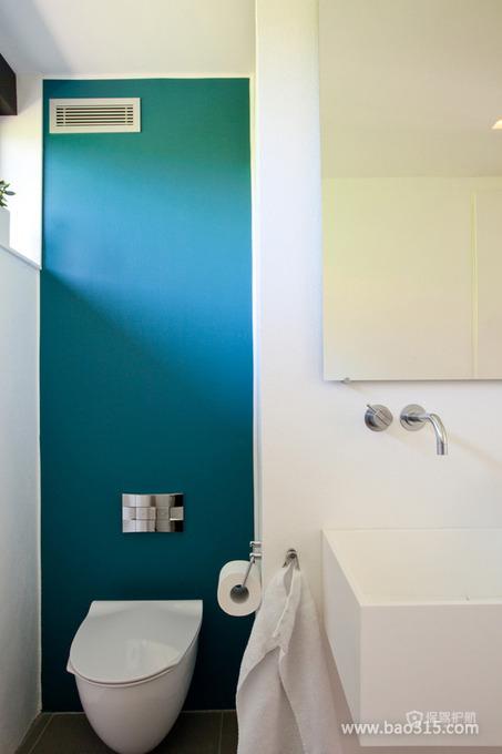 现代清新风格20平卫生间装修效果图