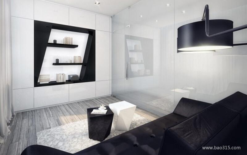 两室一厅简约风格30平客厅装修效果图…