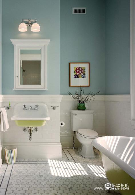 卫生间简洁装饰装修效果图
