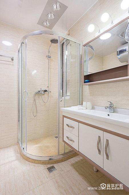 简洁的淋浴房装修设计效果图