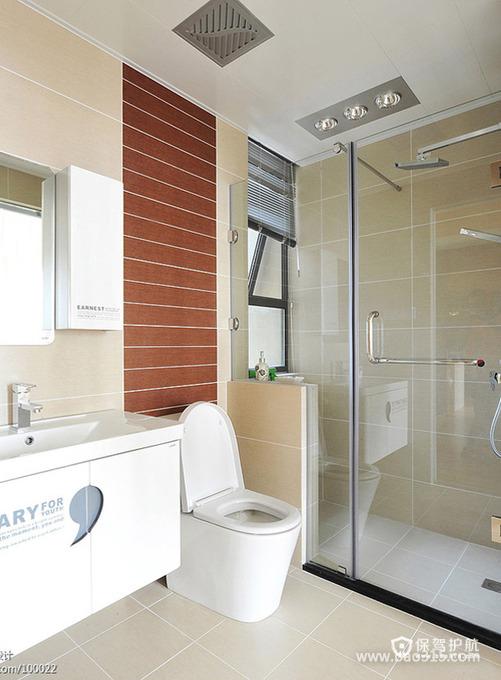 宽敞的卫生间设计效果图
