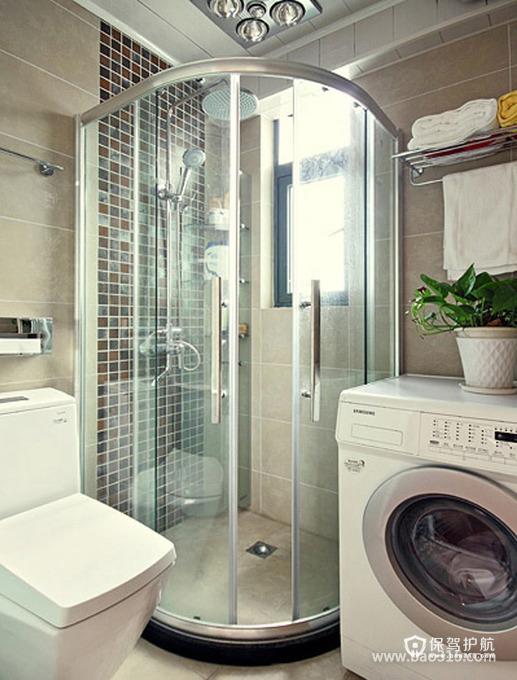 现代风格洁具让卫生间更实用