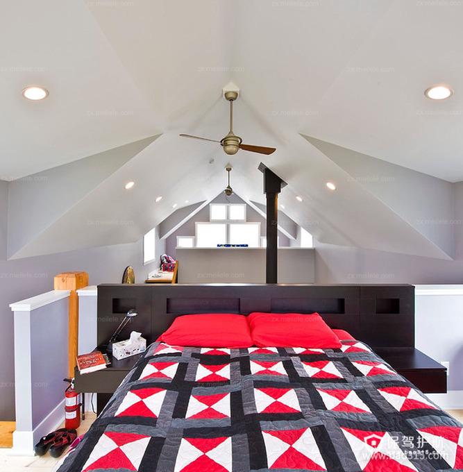 创新潮流中的阁楼卧室设计
