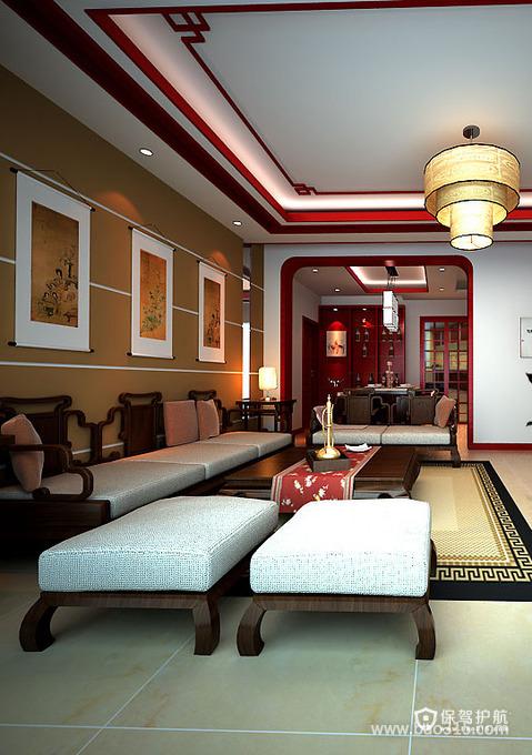 淡淡的温馨与悠悠禅韵的东南亚客厅
