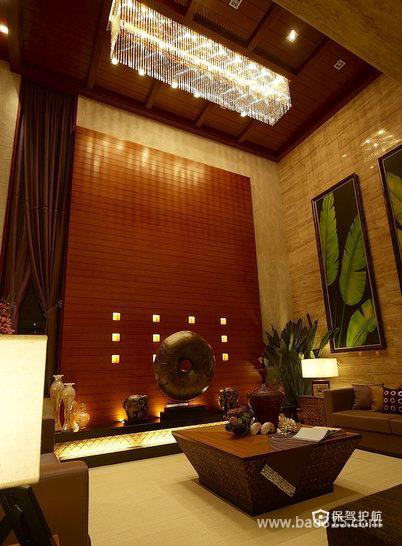 大气优雅的南亚客厅装修