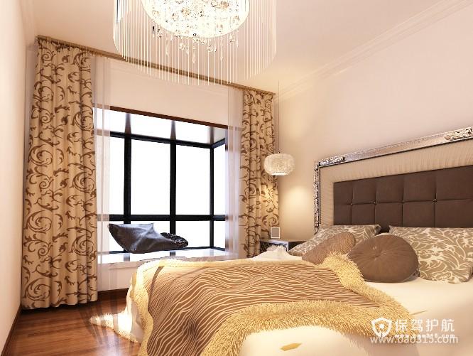 90㎡小户型现代风格卧室装修效果图-现代风格灯具图片