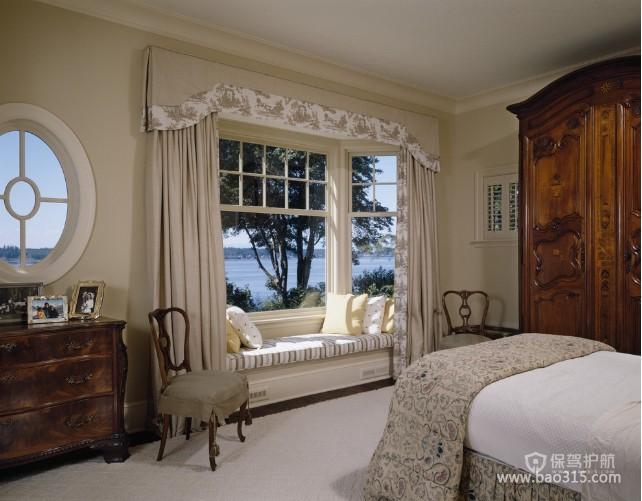 100㎡二居室欧式风格卧室装修效果图-欧式风格单人沙发椅图片