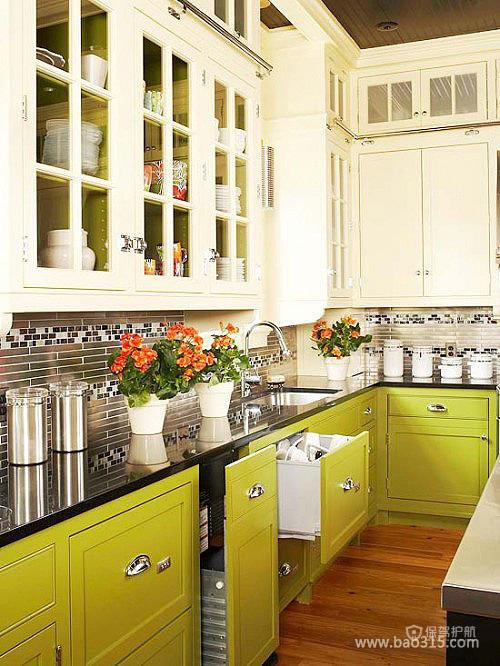 收纳达人的厨房空间
