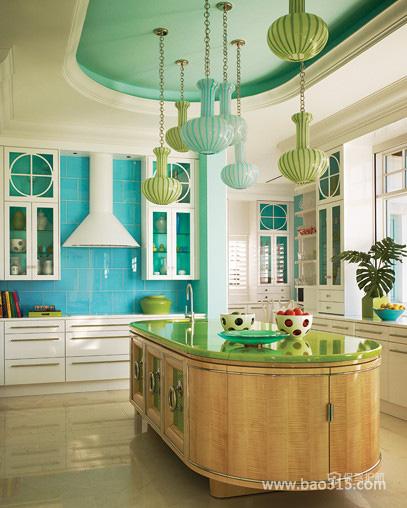 厨房大变装——彩色的厨房世界