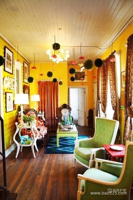 二手房客厅の春天