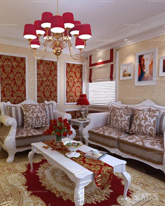 法式风格客厅让我们共享人世繁华