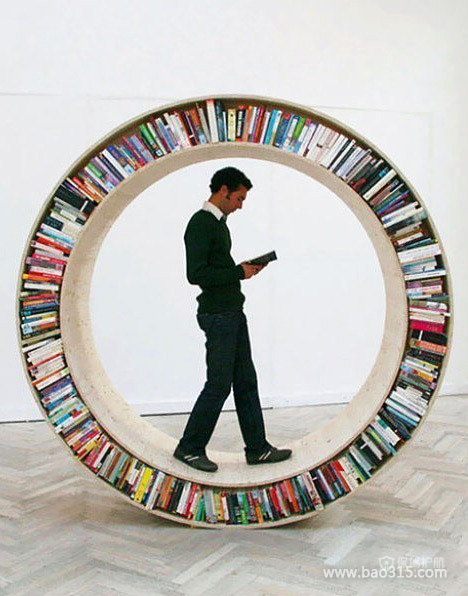 这样的书柜,你敢尝试吗?