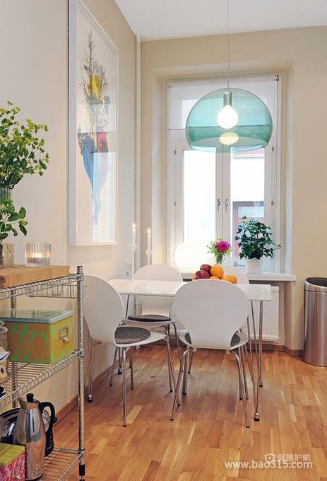 小居室现代餐厅
