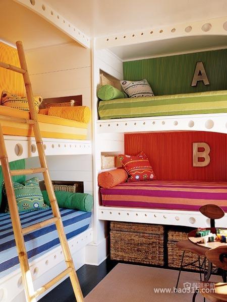 集体宿舍里的美床效果图