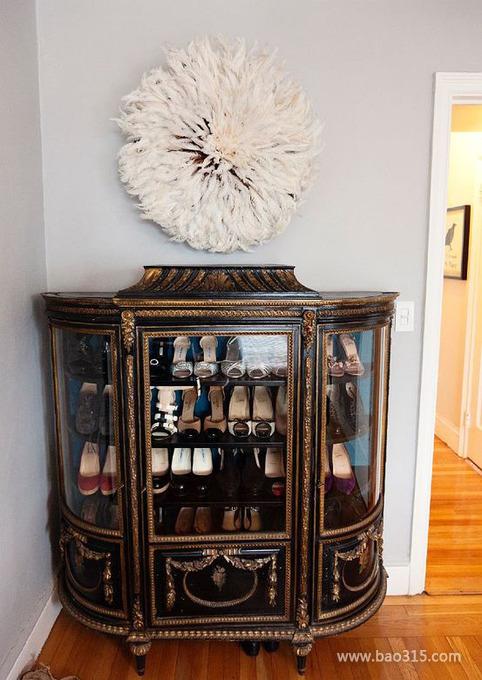 法式风格鞋柜带来浪漫奢华风