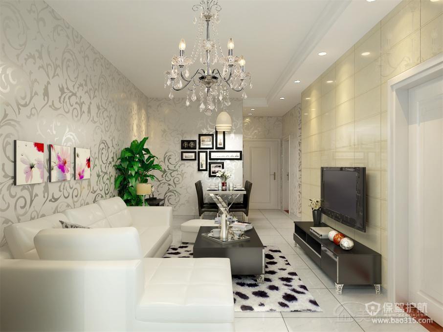 最潮黑白家私时尚简约客厅