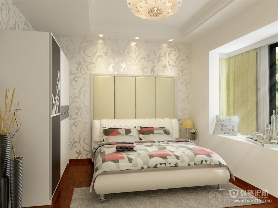 长条形软包装饰时尚卧室