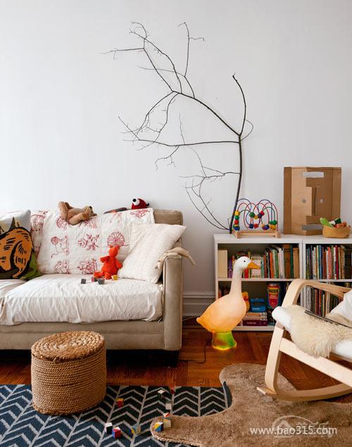 創意十足的現代中式客廳設計