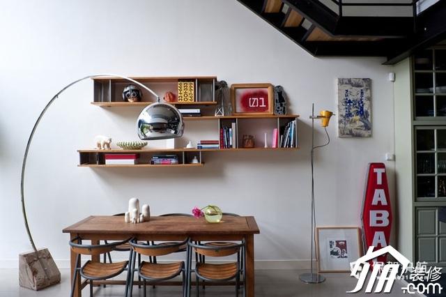 巴黎郊区阁楼公寓 美式现代居住生活