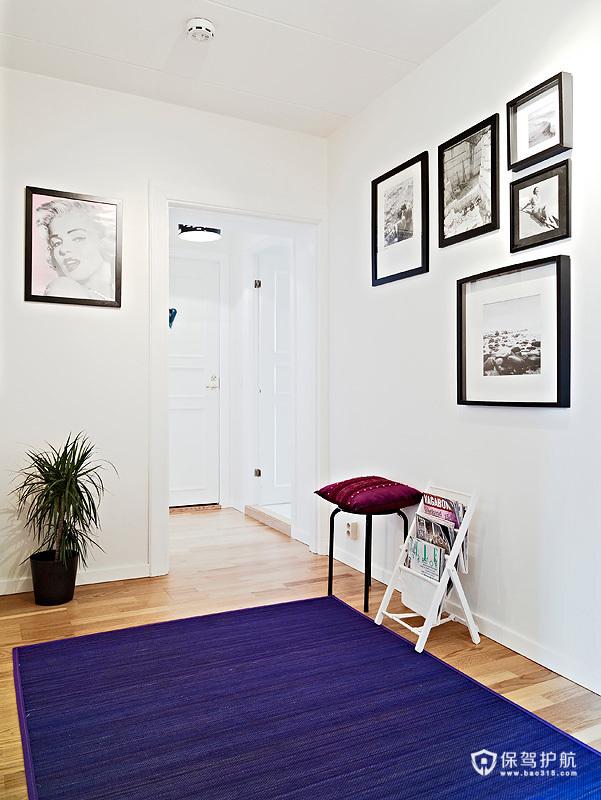北欧简约彩色居 88平米斑斓公寓