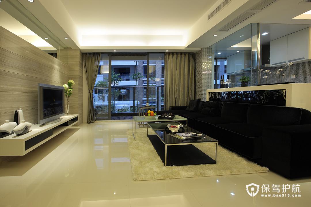 舒适温婉功能兼备 100平简约美型公寓