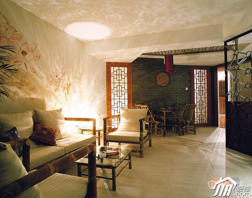 中式荷塘月色 温婉110平公寓
