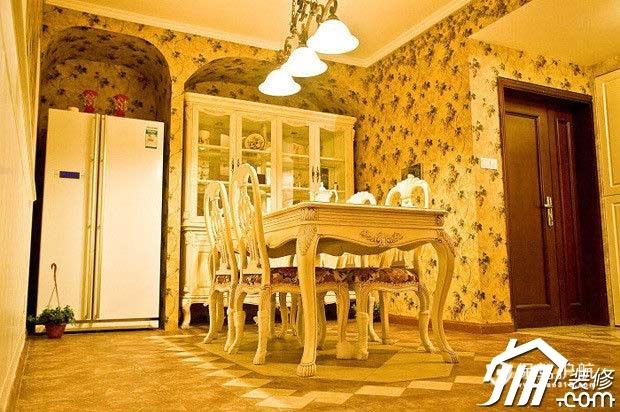 15万硬装欧式风格 90平打造宫殿豪华的家