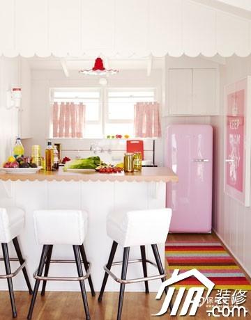 80后追求时尚的美 90平装梦幻粉红屋