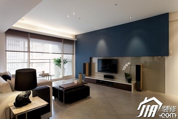 大气简约风 纯洁可人小户型 小户型装修,一居室装修,富裕型装修,简约风格,冷色调装修,时尚